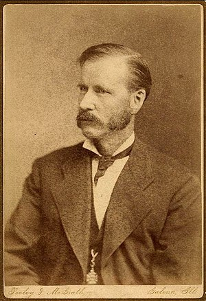 William R. Rowley - William Rowley in 1878