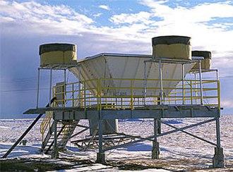 Wind profiler - A radar wind profiler.