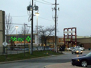 Neighbourhoods of Windsor, Ontario - Tecumseh Mall at Lauzon Parkway.
