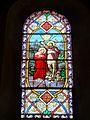 Wissous (91), église Saint-Denis, bas-côté, vitrail n° 14 - baptême du Christ.jpg