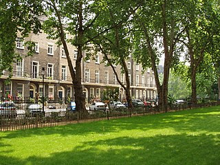 Woburn Square Garden square in Bloomsbury owned by the University of London