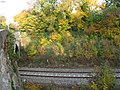Wolvercote Halt railway station site.jpg
