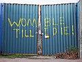 Womble Till I Die! Plough Lane gates.jpg