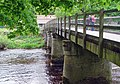 Wooden Bridge over the river Wharfe - geograph.org.uk - 823806.jpg