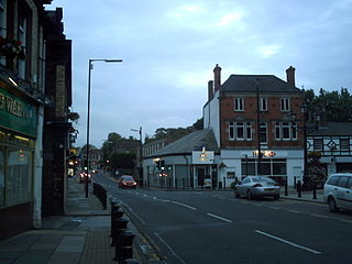 Woolton District of Liverpool