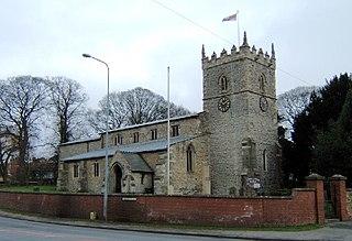 Wrawby village in United Kingdom