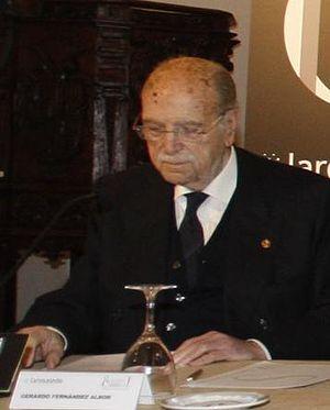 Xerardo Fernández Albor - Xerardo Fernández Albor in 2013.