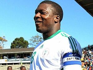 Yakubu Aiyegbeni - Yakubu as captain of Nigeria in 2008
