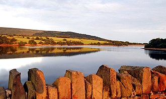 Yarrow Reservoir - Overlooking Rivington Pike