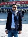 Yasser Elshantaf CeBIT 2015.jpg