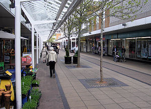 Yate - Yate shopping centre has over 100 shops