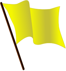 Yellow flag waving.svg
