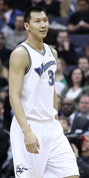 Yi Jianlian - Yi with the Wizards in 2011