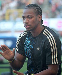 Yohan Blake Jamaican sprinter