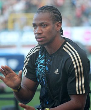 Yohan Blake - Blake at the 2012 Memorial Van Damme