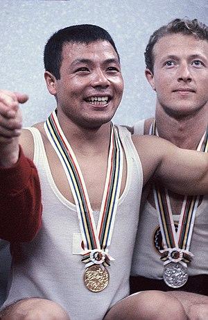 Isaac Berger - Yoshinobu Miyake and Isaac Berger (right) at the 1964 Olympics
