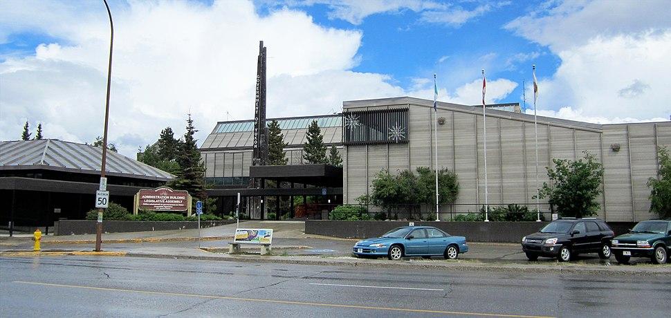 Yukon Legislative Building 2012