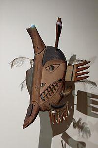 A Yupik mask