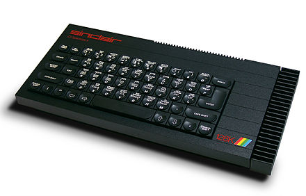 ZX Spectrum 128, an updated version of the original 1982 ZX Spectrum ZX Spectrum128K.jpg