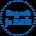 ZagrebJeNAS logo BlueOnWhite.png