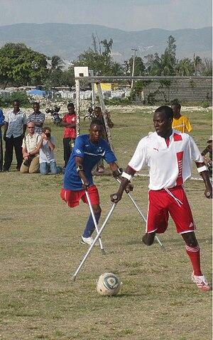 Amputee football - Image: Zaryen Game Photo
