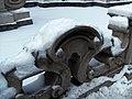 Zaun der Hofmarstallschwemme im Winter.JPG