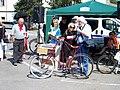 Zbraslav 2011, ukázka bicyklů, Pedersen.jpg