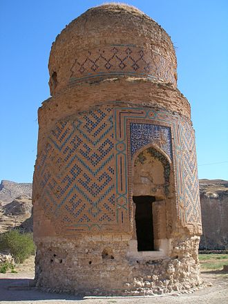 Hasankeyf - Mausoleum of Zeynel Bey, son of Sultan Uzun Hasan (Hasan the Tall) of the Aq Qoyunlu dynasty, or White Sheep Turkomans (1378–1508)