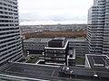 Zicht vanuit de 21ste verdieping Universiteit Leiden toren III.jpg