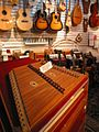 Zither, string instruments, accordions - musical instrument store at San Francisco.jpg