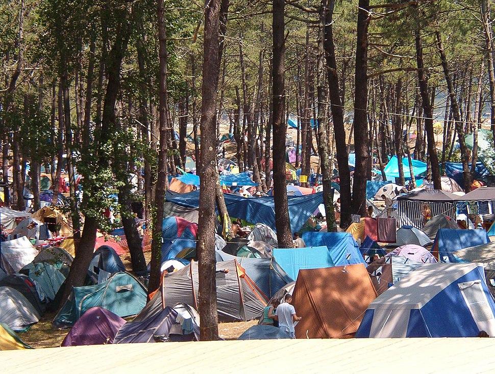 Zona centro festival de ortigueira