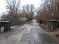 Zsilip utcai híd, árvízvédelem, 2019 Népsziget.jpg