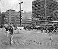 Zweedse dansgroep geeft demonstratie, Bestanddeelnr 912-7438.jpg