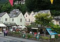 """""""Coffee Mill"""" cafe with Bath Hotel behind - geograph.org.uk - 1456672.jpg"""