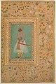 """""""Portrait of Maharaja Bhim Kanwar"""", Folio from the Shah Jahan Album MET DP246545.jpg"""