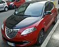 """ 12 - ITALY - Lancia Ypsilong bicolor ( black and red ) in Milan 07.jpg"