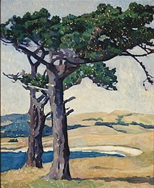 Mills College Art Museum - Image: 'Carmel' by Anne Bremer, 1915, Mills College Art Museum