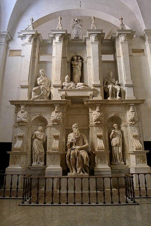 'Moses' by Michelangelo JBU010