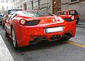 ' 10 - ITALY - Ferrari 458 Italia rossa a Milano 01.jpg