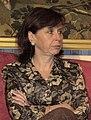 (María Emilia Casas) Rodríguez Zapatero recibe a la presidenta del Tribunal Constitucional. Pool Moncloa. 23 de junio de 2004 (cropped).jpeg