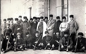 War of independence - Mustafa Kemal Atatürk and Ethem the Circassian, during Turkish War of Independence against Allies (1920)