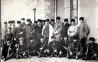 War of independence - Mustafa Kemal Atatürk and Ethem the Circassian, during the Turkish War of Independence against Allies (1920)