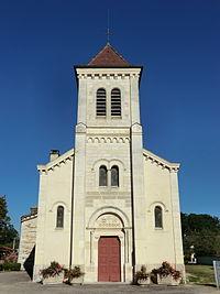 Église Saint-Pierre-Saint-Paul de Versailleux - façade Sud - 3.JPG
