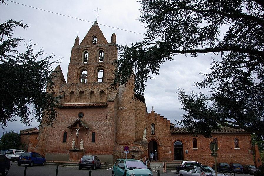 Église Sainte-Marie-Madeleine de Pibrac (Haute-Garonne, France).