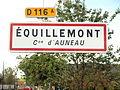 Équillemont-FR-28-panneau d'agglomération-2.jpg