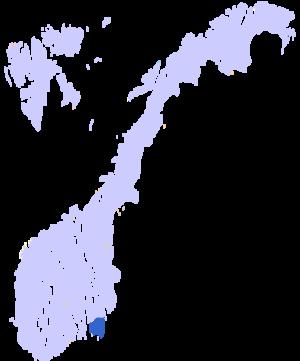 Østfold County Municipality - Image: Østfold kart