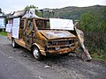 Øystein Meier Johannesens burned car sep 2007 D.JPG