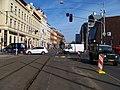 Štefánikova, rekonstrukce TT, u ulic Kartouzská a V botanice.jpg