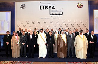 Foreign relations of Qatar - The First Contact Group Meeting on Libya was held in Doha, Qatar on 3 April 2011