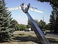Дружковка, памятник-самолёт МиГ-15УТИ.jpg